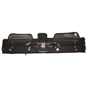 Vio Music Heavy Duty Wooden Shell 4/4 Violin Case, Spacious Compartment.