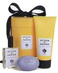 Acqua Di Parma Lavanda Tonica by Parma 3 Piece Set Includes: Eau de Toilette Spray 1.7 oz + Lavender Soap 3.5 oz + Lavender Bath Gel 6.7 oz
