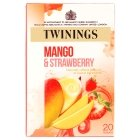 (Pack of 4) Twinings - Mango and Strawberry Tea 20 Bag
