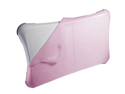 iTALKonline Silicone Case/Cover for Nintendo Wii Fit/WiiFit Board - Pink