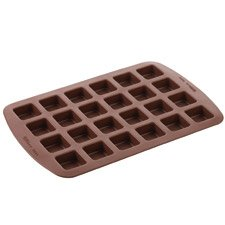 WILTON BROWNIE BITE 24CAV SQ SIL MOLD 2105-4923