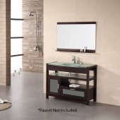 "43"" Milan Sinlge Sink Bathroom Vanity - Cherry"