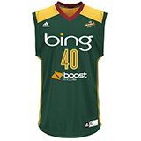 adidas Shekinna Stricklen Seattle Storm Replica Jersey