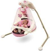 Fisher-Price - Papasan Cradle Swing, Mocha Butterfly (Fisher Price Papasan Swing compare prices)