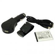 Fashion Bluetooth Multipoint Speakerphone for Car(10 meters)-Black
