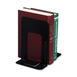 Officemate International Corp Nonskid Steel Bookends, 4-3/4\