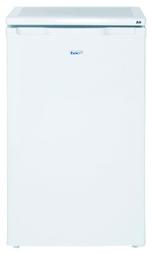 Lec L5010W 50cm under counter larder fridge, 100ltr capacity, A+ energy rating, white