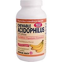 American Health Acidophilus Chewable Banana