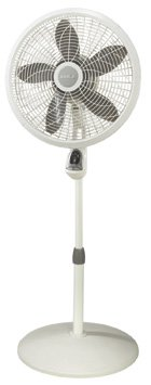 18 In. Adjustable Elegance And Performance Pedestal Fan With Remote Control