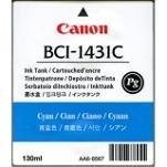 Canon Imageprograf W 6400 DYE - Original Canon 8970A001 / BCI-1431C - Cartouche d'encre Cyan -