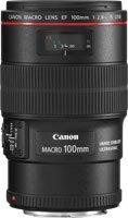 Canon Ef 100mm F / 2.8l Macro Is Usm Lens + Polarisation Circular Filter 67mm