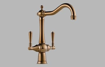Brizo 62036LF-BZ Tresa Two Handle Kitchen Faucet – Brushed Bronze