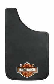 Plasticolor 524 Harley Davidson Design Splash Guard Mud Flap