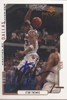 Etan Thomas Dallas Mavericks 2000 Upper Deck MVP Rookie Autographed Hand Signed... by Hall of Fame Memorabilia