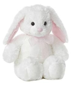 White Plush Bunny 10.5''