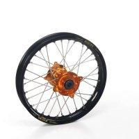 Haan Ktm Sx65 Haan Wheels Ktm Orange Hubs & Black Rims, 14-1.6 Sx65 2012