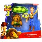 Toy Story 3 Exclusive Woody's Escape - Woody, Mr Pricklepants & Peas In A Pod