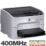 Konica Minolta Magicolor 1650EN Color Laser Printer; 20PPM; B&with 5 Ppm Color;  9600X600 Dpi; 256 Mb Ram; Ethernet