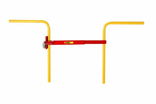 "Little Giant Sgh-R Powder Coated Hydraulic Arm Safety Gate, 21"" Width X 6"" Height X 3-1/2"" Depth, Red"