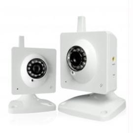 Zmodo Surveillance Pki-W2001 Wireless 1/4Inch Cmos Ir Indoor Night Vision Ip Network Camera