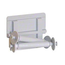 DUOMI Replacement Toilet Roll Holder Roller Plastic-Spring Loaded ...