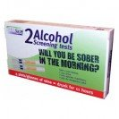 SURESIGN ALCOHOL TEST KIT. Disposable Single Use Breath Alcohol Detector. 2 Detectors per Pk