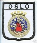 Oslo Norway Flag Embroidered Patch Badge
