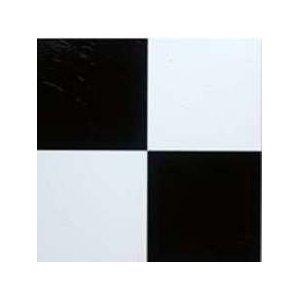 Black And White Self Stick Vinyl Floor Tiles 10015 Home Dynamix 1