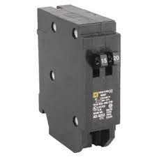 Square D Tandem Circuit Breaker, Homt1520