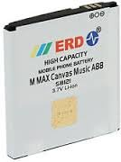 ERD Battery Micromax Canvas Music A88
