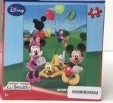 Disney Mickey Mouse Clubhouse 24 Piece Puzzle - Mickey, Minnie, Pluto, & Donald with Balloons