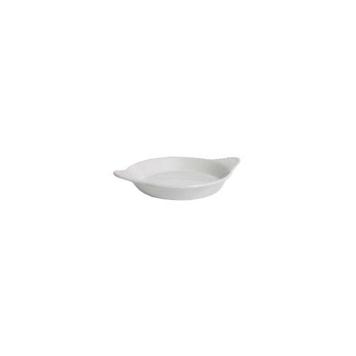 Tuxton Bwn-0602 6 Oz. Round White Shirred Egg Dish - 12 / Cs