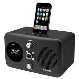 Revo Domino D2 Black iPod Dock with Wi-Fi Internet Radio