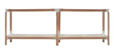 Magis Steelwood Shelving System - 2 Moduli 2 Ripiani Faggio naturale/Bianco