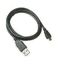 TOS pack of 2 Flat Usb Data Sync and Charging Cable For Samsung Galaxy Grand(Black)