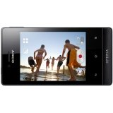Sony Xperia Miro ST23A Unlocked Android Phone with 5 MP Camera and 3.5-Inch Screen--U.S. Warranty (Black)