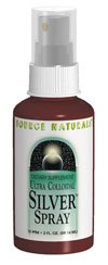 Source Naturals Ultra Colloidal Silver Throat Spray, 10 ppm, 1 Fluid Ounce