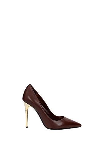 114W0991TSCACAR-Tom-Ford-Talon-Femme-Cuir-Marron-clair