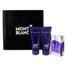 Mont Blanc Femme De Montblanc Coffret: Eau De Toilette Spray 75Ml/2.5Oz + Body Lotion 100Ml/3.3Oz + Shower Gel 100Ml/3.3Oz For Women 3Pcs