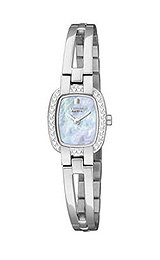 Citizen Eco-Drive Silhouette Crystal Mother-of-Pearl Dial Women's Watch #EW993056Y