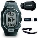 Garmin FR60 Black Fitness Watch Bundle (Includes Foot Pod, Heart Rate Monitor, and USB ANT Stick)