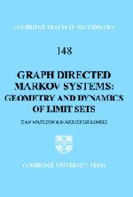 Graph Directed Markov Systems: Geometry and Dynamics of Limit Sets (Cambridge Tracts in Mathematics)