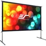 Elite Screens Yard Master 2 Series, 90-inch 16:9, Foldable-Frame Outdoor Front Projection Movie Screen, OMS90H2