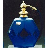 フランス製クリスタル香水瓶 クリスタルブルー 803599