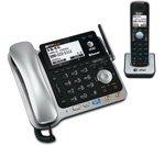 At&T Tl86109 Corded Cordless Phone Combo Att Tl86109