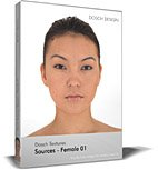 Dosch Textures: Sources - Female 01 front-743346
