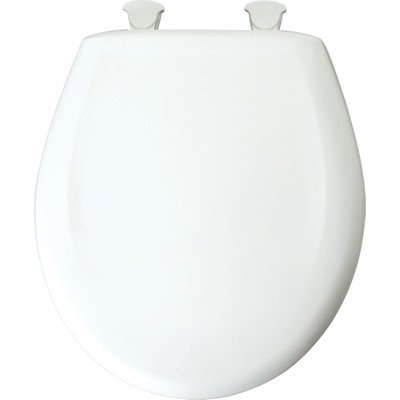 Awesome Residential Plastic Round Toilet Seat Finish Dusty Rose Uwap Interior Chair Design Uwaporg