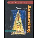 Management Accounting by Swain,Monte R.; Albrecht,W. Steve; Stice,James D.; Stice,. [2004,3rd Edition.] Hardcover