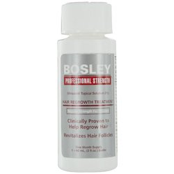 BOSLEY by HAIR REGROWTH TREATMENT, REGULAR STRENGTH FOR WOMEN- TWO MONTH SUPPLY 2- 2 OZ BOTTLES