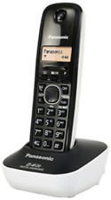 Panasonic KX-TG3411SX 2.4GHz Digital Cordless Phone (White)